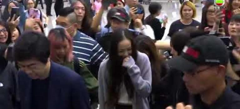 安室奈美惠抵港開告別show 03.29.2018