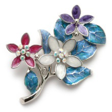 The Flowers Of Spring Brooch