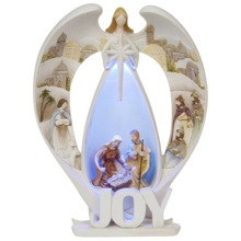 Angel Glow Joy Ornament