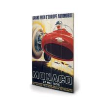 Monaco Grand Prix 1955 Wall Art