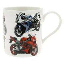 Super Bike Fine China Mug