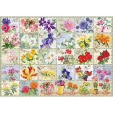Vintage Flora 1000-Piece Jigsaw