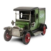 Vintage Green Delivery Van