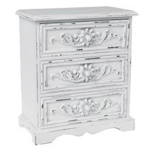 Antiqued Keepsake Cabinet