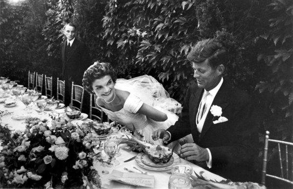 wedding, famous wedding, jfk wedding, jackie o, jackie o wedding