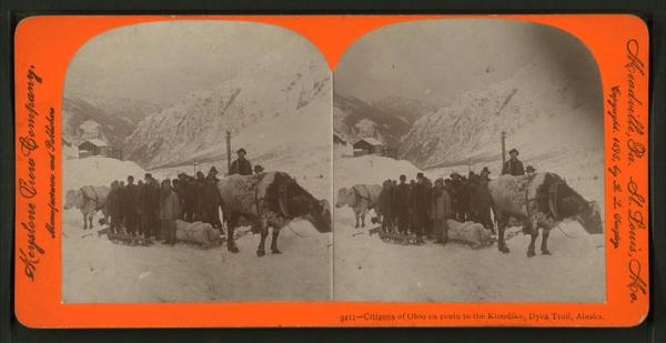 klondike gold rush photos, gold rush photos, gold prospector photos, gold rush 1898, alaska gold rush