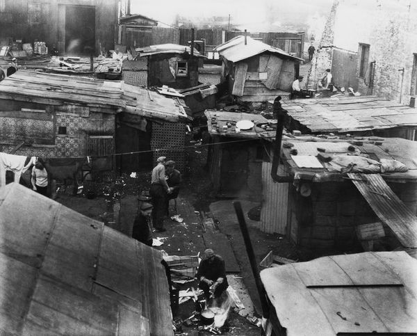 hooverville, great depression, shanty town