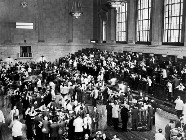 A Look Inside The Stock Market Crash Of 1929 10 Photos