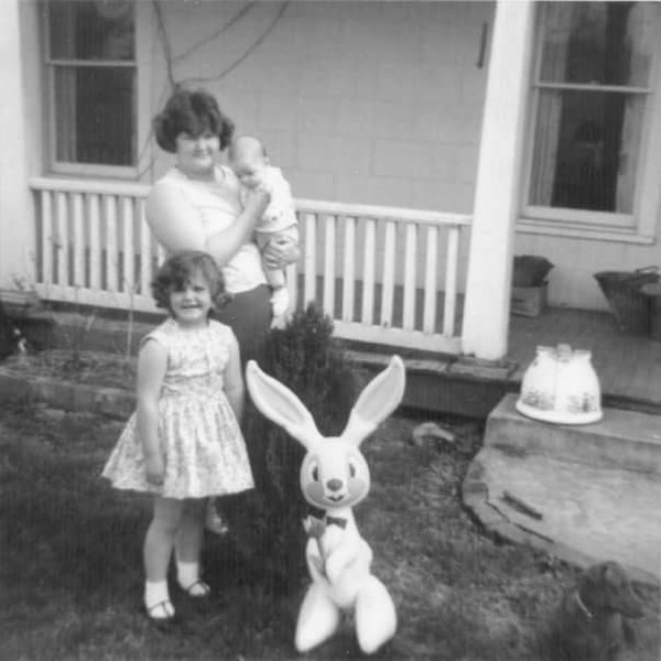 vintage easter photos, 1950s easter, old easter photos, sunday best