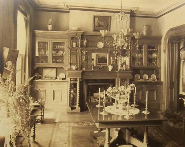 Rare photos inside 1800 39 s victorian houses old photo House photos gallery