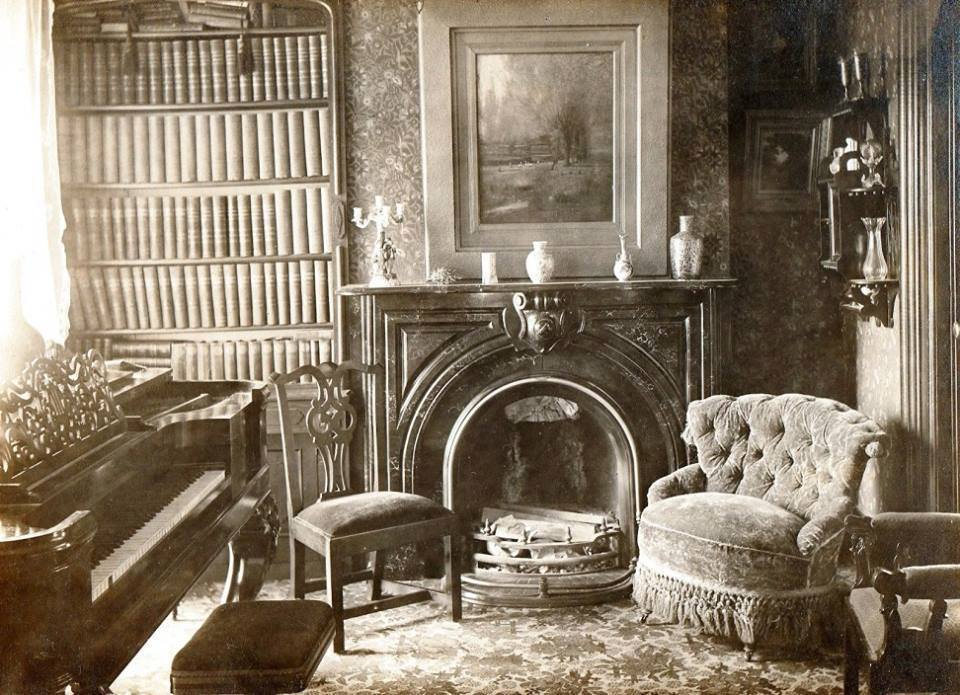 rare photos inside 1800 u0026 39 s victorian houses - old photo archive
