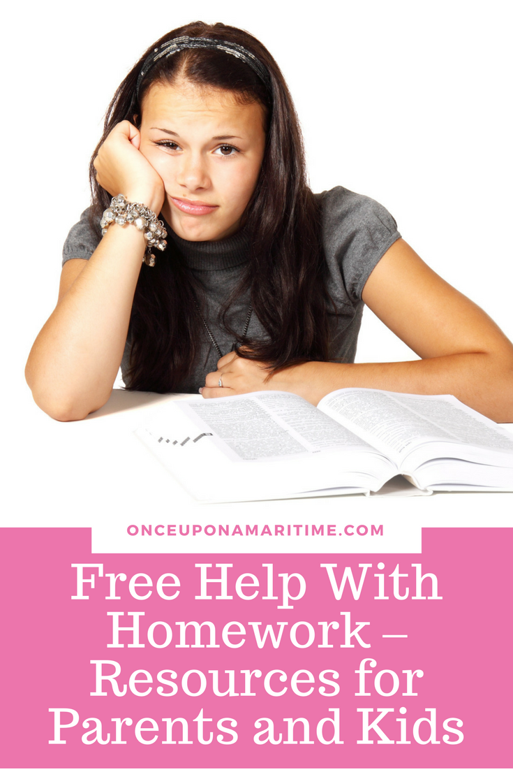 Free Help With Homework - Resources for Parents and Kids