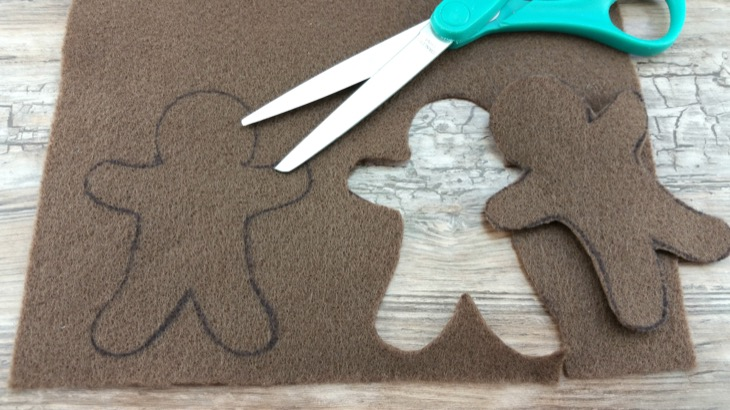 Make This Simple Gingerbread Man Craft - Fun For The Whole Family