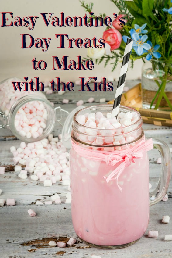 Easy Valentine's Day Recipes to Make with the Kids