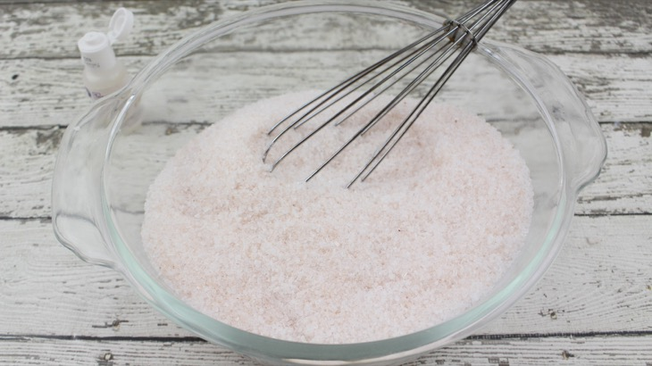 DIY: Pink Champagne Bath Salts - For A Romantic Valentine's Day