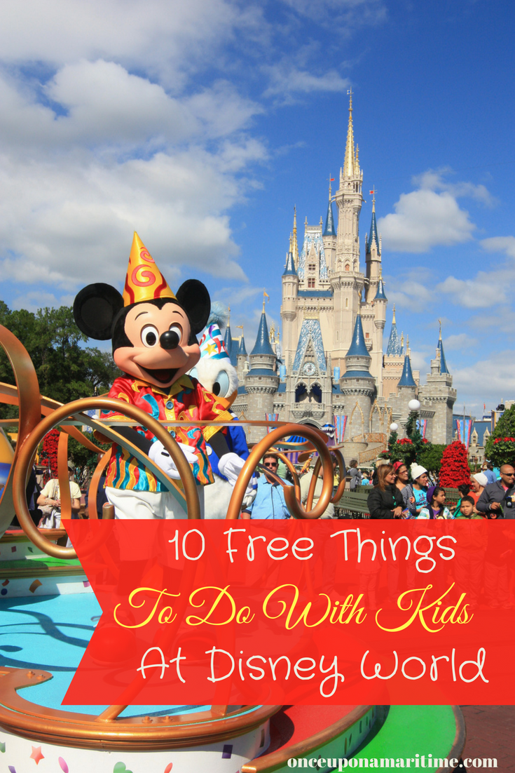 10 Free Things to Do with Kids at Disney World
