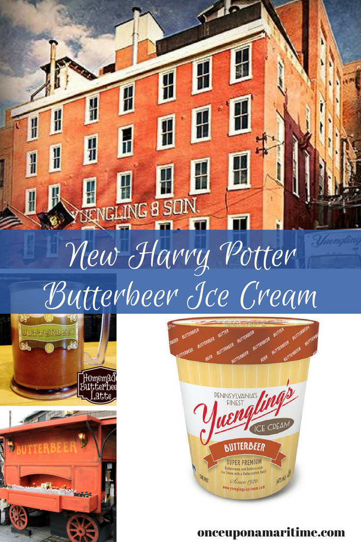 Yuengling Brewery Debuts New Harry Potter Butterbeer Ice Cream Flavor