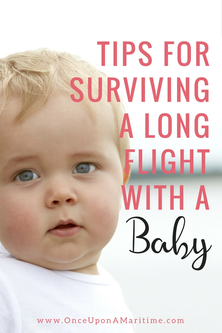 Tips for Surviving A Long Flight With A Baby
