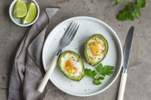 avocado egg bowl