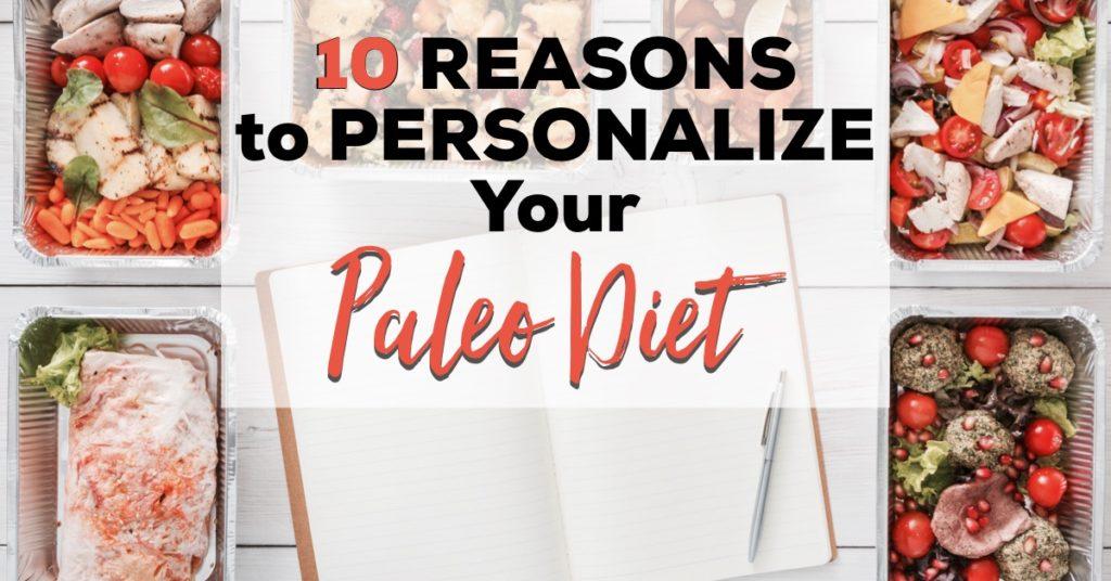 customize paleo diet