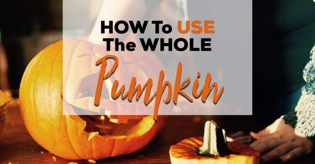 how to use the whole pumpkin