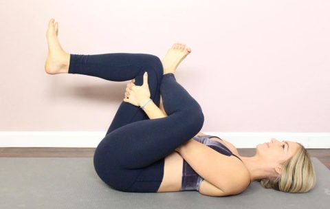 Use this five-minute stretch routine to release lower back and hip pain from the comfort of your own home, office, or anywhere else.