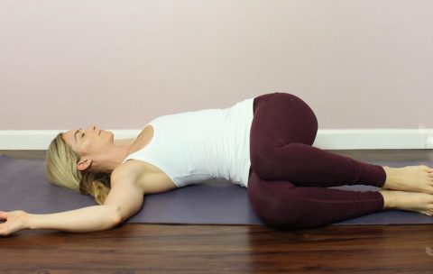 Practice a few or all of these poses whenever you feel anxious or if you know that you will be going into a stressful, anxiety-inducing situation.
