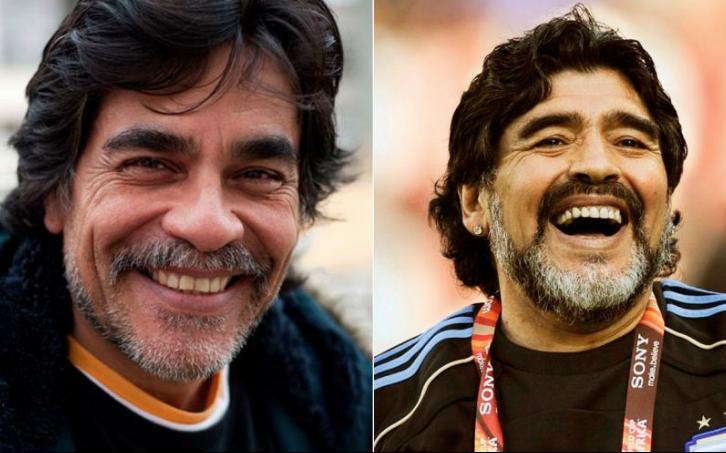 Diego Maradona retirado será Juan Palomino