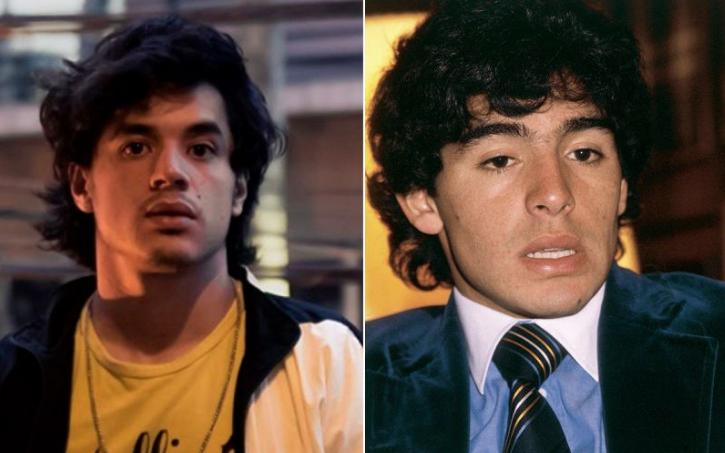 Diego Mardona joven es Nicolás Goldshmidt