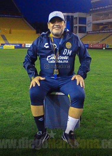 Diego, en sus últimos días en México.