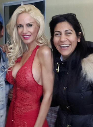Yami conoció a Luciana por intermedio de Sandra Dillon.