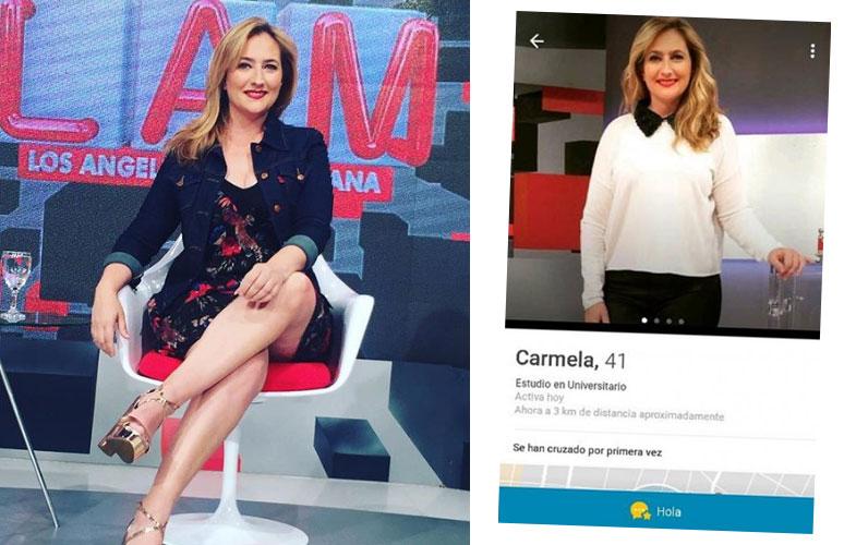 Carmela Bárbaro anda buscando un amor.