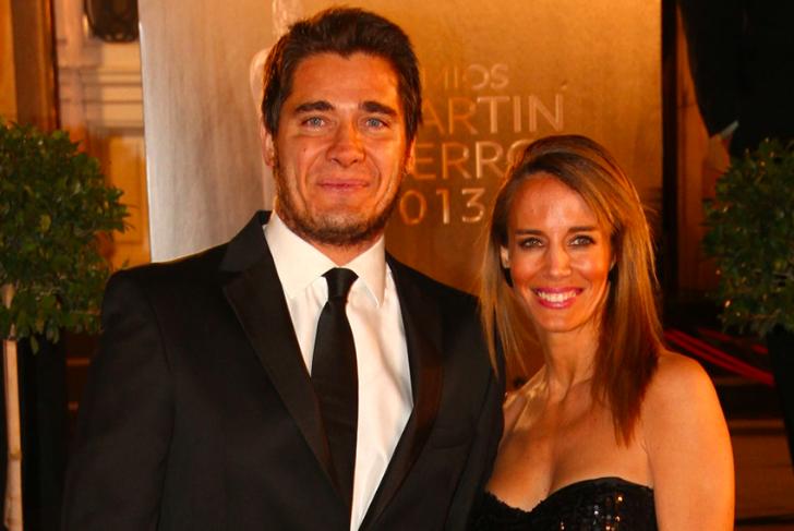 El conductor y la modelo viajaron a Uruguay junto a sus hijos.