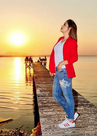 Larissa Riquelme y su mensaje de cumpleaños