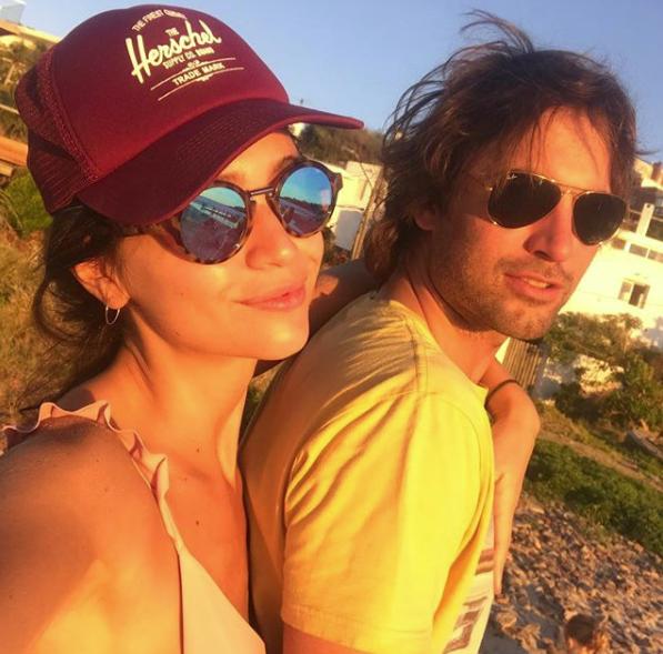 Zaira estuvo con su pareja de vacaciones en Punta.