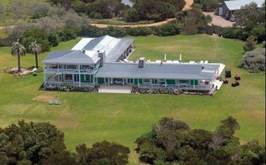 La mansión del clan Tinelli