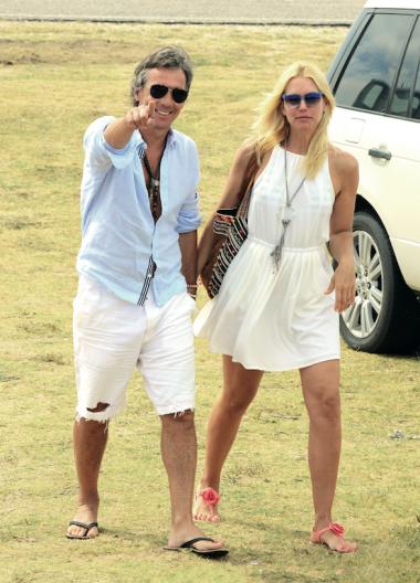 Valeria y su marido, abonados a PDE