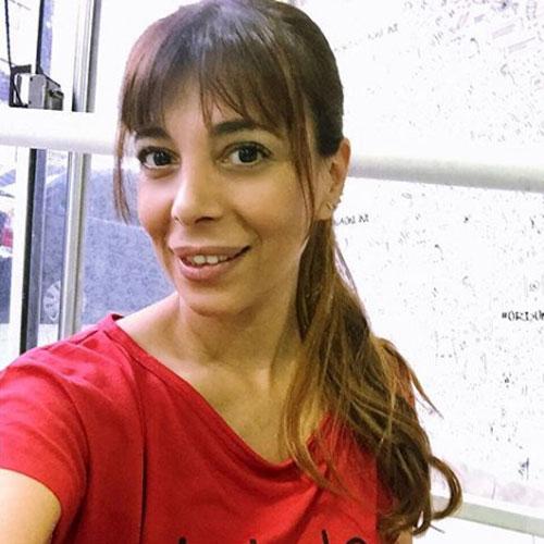 Ximena Capristo estrenó cabellera.