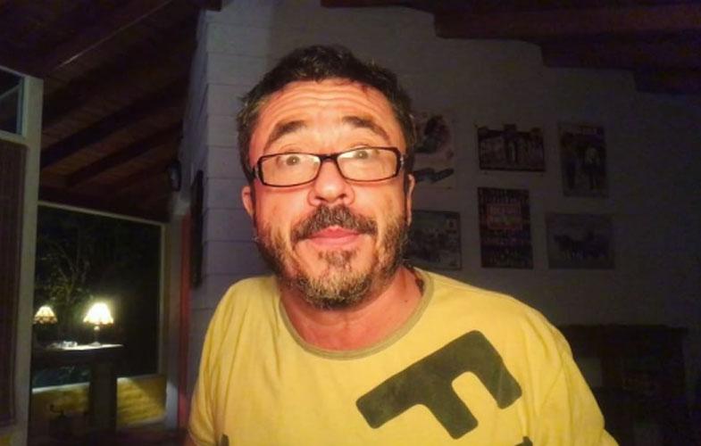 Pablo Granados y una hilarante foto vieja.