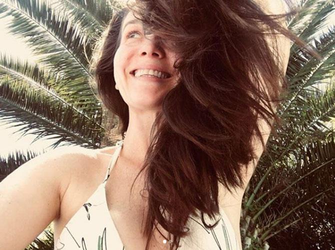 Nati Oreiro: nuevo look, siempre diosa.