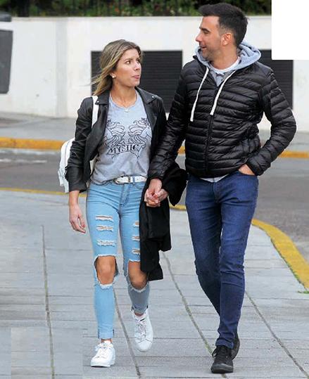 Los paseos de la pareja por Palermo se podían ver a diario.