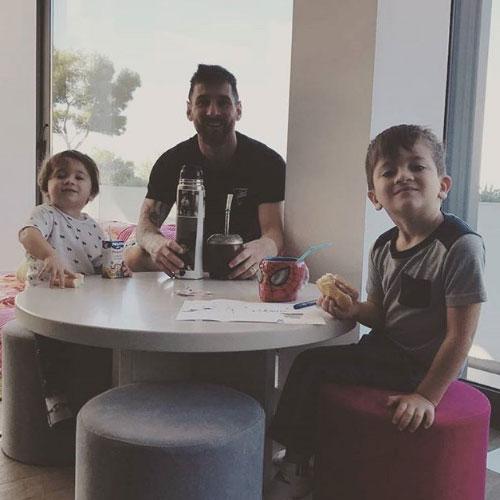 La bella morada de Leo Messi y su familia.