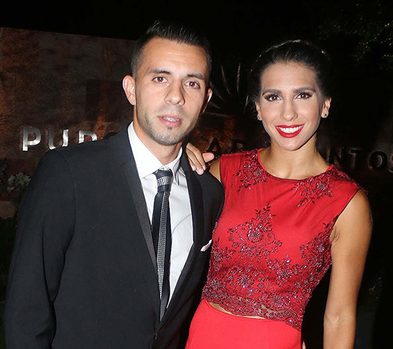 Ella sigue trabajando con Flavio Mendoza en Carlos Paz.