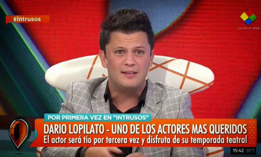 Darío Lopilato no quería decir pero...