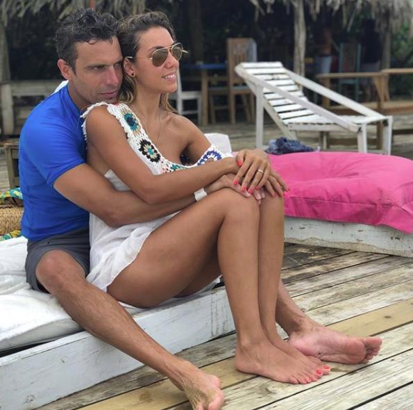 Está casada desde diciembre con Rodrigo, un famoso arquitecto.