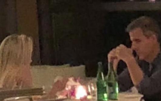 La foto que prueba su encuentro en San Valentín