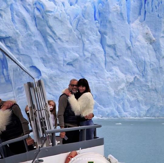 El viaje en barco fue tremendo, dijeron los dos.