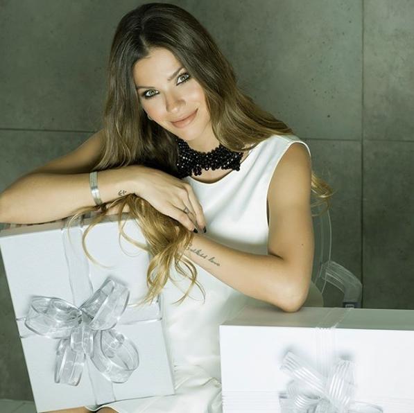 La actriz hizo una campaña gráfica para Naima justo antes de ser madre.