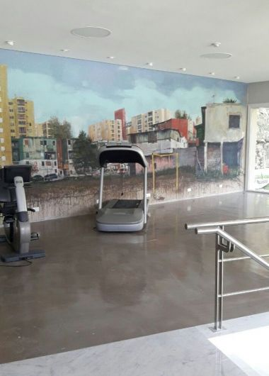 El gimnasio de Tévez