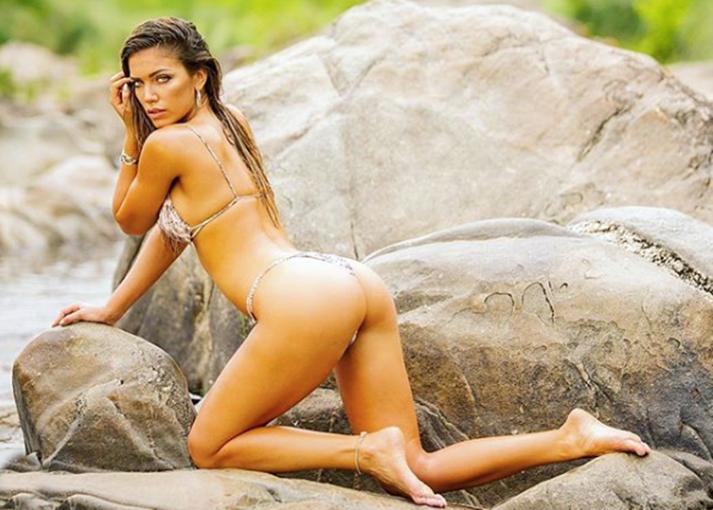 Rocío Robles fue una de las chicas del verano en Carlos Paz.